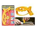 Fast Reliable JIFFS Handheld Knife & Scissor V- Sharpener in Few Sec Quick Delivery