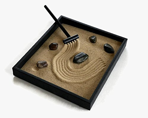 Zen-Garden-Kit-Black-Indoor-Zen-Garden-Relaxation-Gift-Handmade