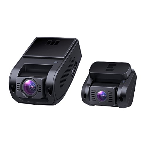 AUKEY-Dual-Dash-Cam-HD-1080P-Front-and-Rear-Camera-Car-Camera-Supercapacitor-6-Lane-170-Degrees-Wide-Angle-Lens-Dashcam-with-Night-Vision-Loop-G-Sensor-Motion-Detection-and-Dual-Port-Car-Charger