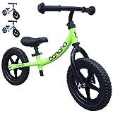 Banana Bike LT - Lightweight Balance Bike for Toddlers, Kids - 2, 3, 4 Year Olds (Green 2019)