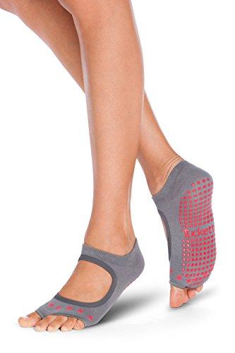 Tucketts Womens Yoga Socks, Toeless Non...