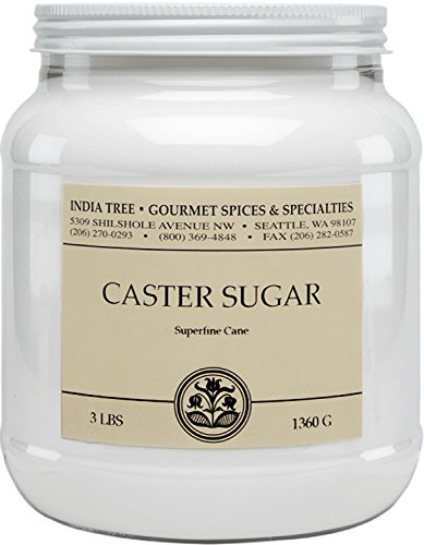 India Tree Caster Sugar, 3 lb (Pack of 2)