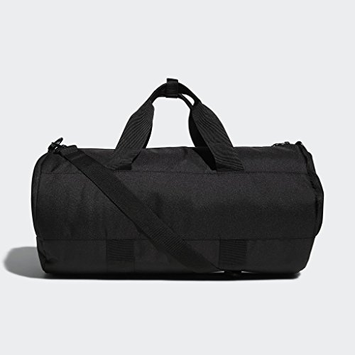 adidas Originals Paneled Roll Duffel Bag, Black, One Size 16 Fashion Online Shop gifts for her gifts for him womens full figure