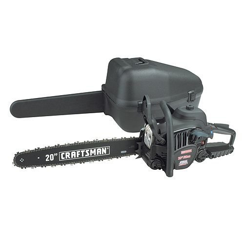 Craftsman 50cc 20' Gas Chain Saw - Case Included