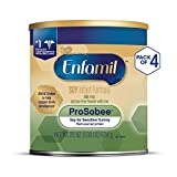 Enfamil ProSobee Soy Sensitive Baby Formula, Dairy-Free Lactose Free Plant Protein Milk...
