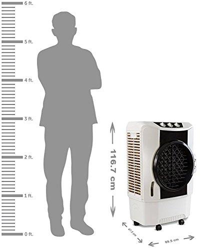 41mLPICq4LL - Usha Maxx Air 70MD1 70-Litre Desert Cooler(White/Black)