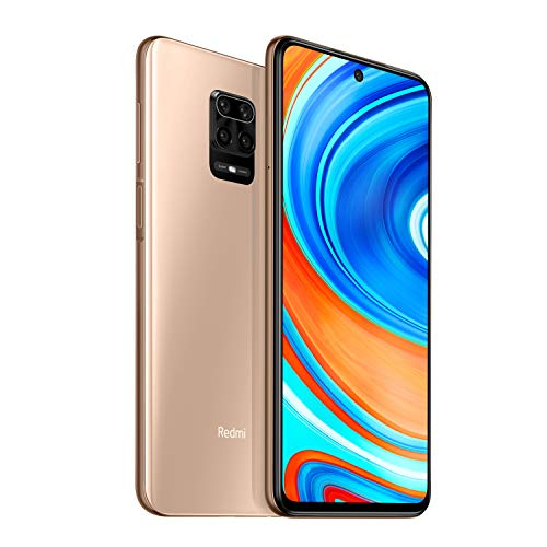 41mMirfCbyL - Redmi Note 9 Pro Max (Champagne Gold, 6GB RAM, 128GB Storage) - 64MP Quad Camera & Latest 8nm Snapdragon 720G | with 12 Months No Cost EMI