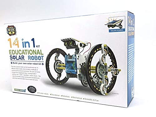 14 in 1 Solar Robot kit Educational Solar Power Robot Canada