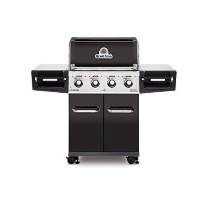 Broil-King-956214-Regal-420-Pro-Gas-Grill-Four-Burner-Black-Porcelain