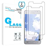 KATIN Galaxy J2 Prime Screen Protector - [2-Pack] Tempered Glass for Samsung Galaxy J2 Prime Bubble Free with Lifetime Replacement Warranty