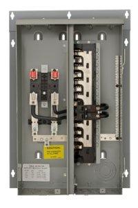 Siemens MC1224B1125ESC 12 Space, 24 Circuit, 125 Amp, Meter Combination, Ring Type Cover, EUSERC