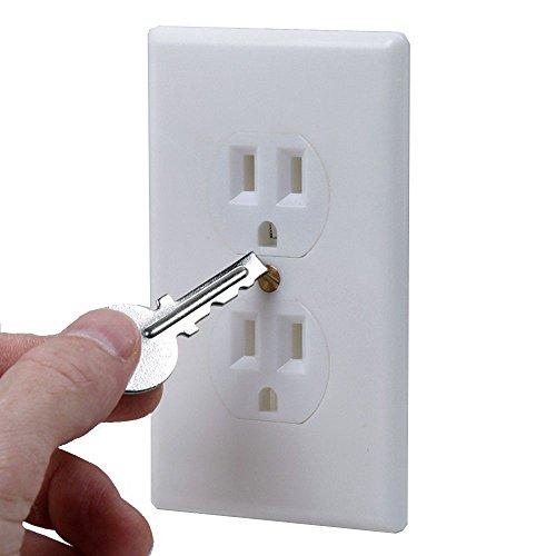 US Patrol Hidden Wall Safe Secret Stash Electrical Plug  Image of 41mWpxd5MsL