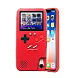 LAYOPO Gameboy iPhone Case, Video Game Phone Case, Cover Retro 3D Gameboy Case Design for iPhone 6/6S, iPhone 6/6Plus, iPhone7/8, iPhone7/8Plus, iPhone Xs/X (36 Small Games, Color Screen)