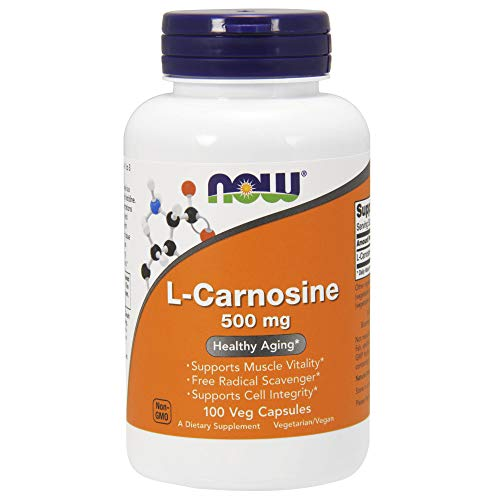 Now Supplements, L-Carnosine 500 mg, 100 Veg Capsules