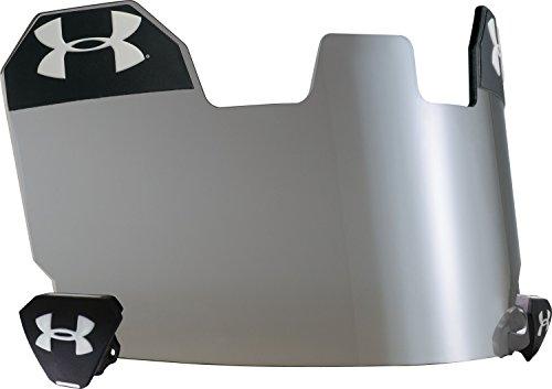 Under Armour Standard Football Helmet Visor, Grey