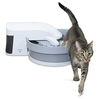 PetSafe Simply Clean Self-Cleaning Cat Litter Box, Automatic...