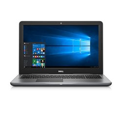 "Dell Inspiron i5567-3655GRY 15.6"" FHD Laptop (7th Generation Intel Core i5, 8GB RAM, 1 TB HDD)"