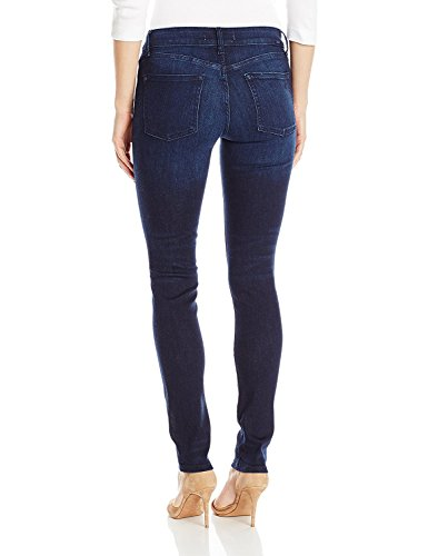 41mkbthYcAL Dark-tone skinny jean in four-way stretch denim featuring whiskering at hips and light fading Five-pocket styling 30-inch inseam