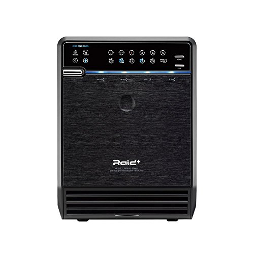 Mediasonic HFR2-SU3S2 PRORAID 4 Bay 3.5' SATA Hard Drive Enclosure - USB 3.0 & eSATA