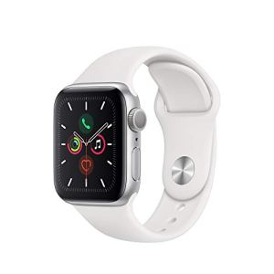 Apple Watch Series 5 (GPS, 40mm) - Silver Aluminum Case with White Sport Band 7