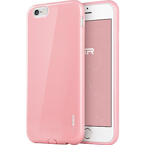 iPhone 6 Case, ESR Soft Rubber Case [Yippee Colour Series] [Ultra Thin] [Light Weight] [Scratch-Resistant] Protective Cover for 4.7 inches iPhone 6 (Sweet Pink) (Sweet Pink) ¡