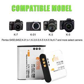 Pickle-Power-Li-90B-LI-92B-Battery-3-Pack-and-Charger-Kit-for-Olympus-Tough-TG-6-TG-5-TG-Tracker-SH-1-SH-2-SP-100-IHS-Tough-TG-1-iHS-TG-2-iHS-TG-3-TG-4-SH50-iHS-SH60-XZ-2-iHS