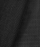 Phifertex Standard Solids - Black Fabric - by the Yard