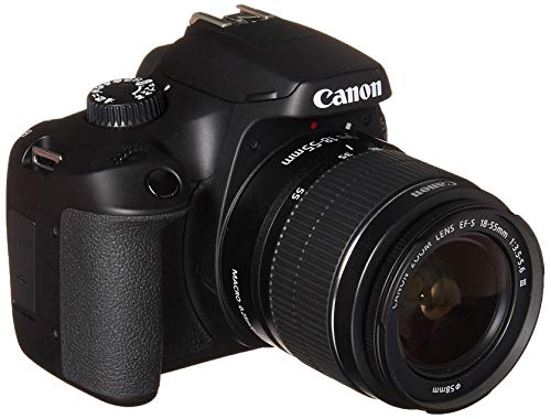 Canon EOS 4000D DSLR Camera EF-S 18-55 mm f/3.5-5.6 III Lens International Model