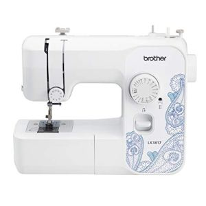 Brother RLX3817 Full Size Sewing Machine, White.