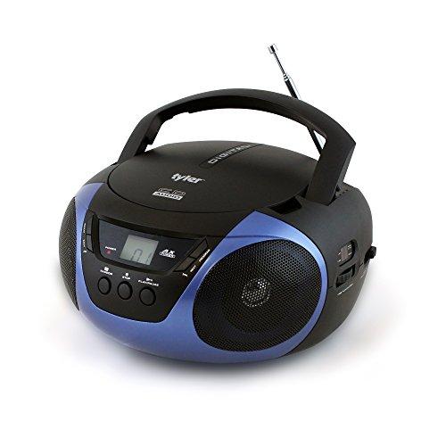 Tyler Portable Sport Stereo CD Player TAU101-BL...