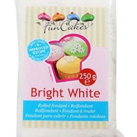 FunCakes Pasta di Zucchero Bianco - pacco da 250 grammi
