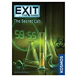 Exit: The Secret Lab | Exit: The Game - A Kosmos Game | Kennerspiel Des Jahres Winner | Family-Friendly, Card-Based at-Home Escape Room Experience for 1 to 4 Players, Ages 12+