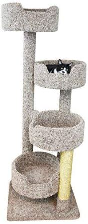 New-Cat-Condos-190209-EarthTone-Large-Cat-Tower-with-4-Easy-to-Access-Spacious-Perches-Neutral