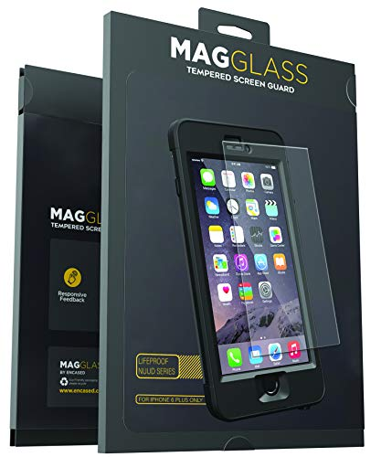 Magglass Screen Protector for Lifeproof Nuud iPhone 6 Plus Case Custom Tempered Glass, Case Not Included
