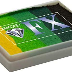 Diamond FX 50g Split Cake Face Paint ~ Green Carpet (RS50-8) 41n5XkBmI8L