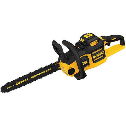 Electric vs gas chainsaw which is the best for the job dewalt dccs690h1 40v 6ah lithium ion xr brushless chainsaw 16 greentooth Image collections