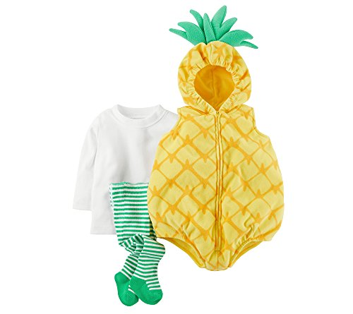 Carter's Baby Girls' 3-Pc. Little Pineapple Costume 18 Months
