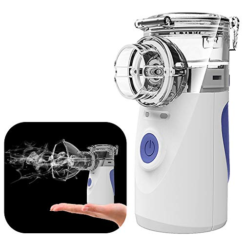 Portable Mini Vaporizers Machine Handheld Travel Steam Compressor Humidifier Cool Mist Inhaler Kits for Adults & Kids