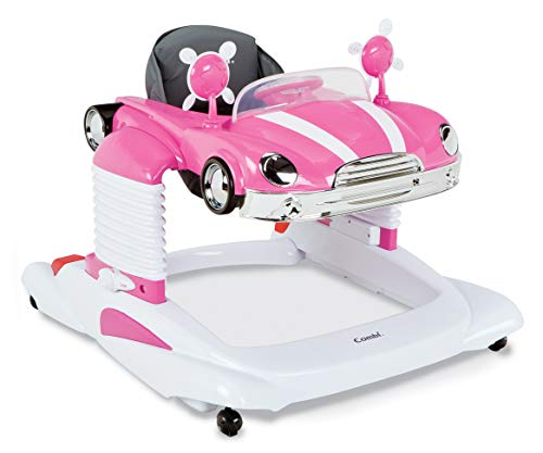 Combi Baby Activity Walker - All-in-One Mobile Activity Center, Entertainer, and Snack Tray - Bounce, Drive and Play