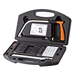 Original 15-in-1 Magic Universal Hand Saw Kit Toolbox Of Multi Blades Set Works As Hacksaw Coping Bow Jab Rip Pruning Chain Handsaws A Cutter Suitable To Cut Wood PVC Pipes Glass