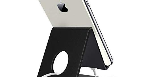 Mobile Phone Stand Holder for All iPhone, Tablet and Smartphones (Black)