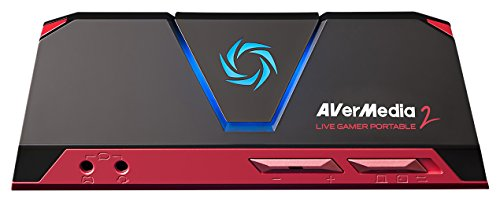 AVerMedia Live Gamer Portable 2, Full HD 1080p60 Recording Without PC Directly to SD Card, Ultra Low Latency, H.264 Hardware Encoding, USB Game Capture, Record, Stream, Plug & Play, Party Chat, XBOX, Playstation, Nintendo Switch (GC510)
