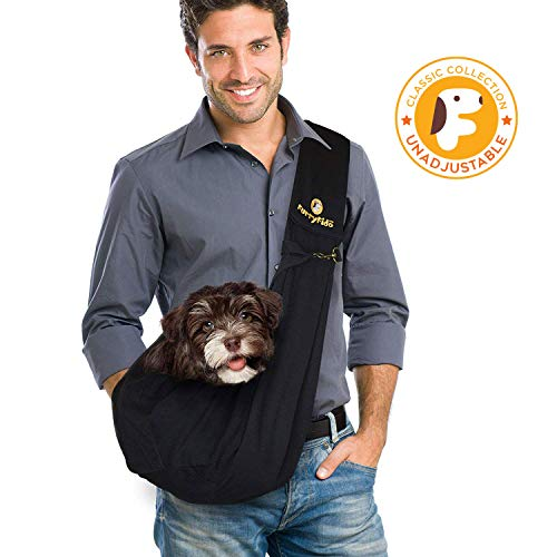FurryFido Adjustable Pet Sling Carrier for Cats Dogs up to 13+ lbs 1