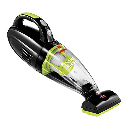 Bissell 1782 Pet Hair Eraser Cordless Hand and Car Vacuum, Green/Black