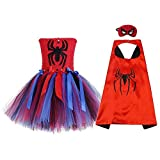 AQTOPS Hero Spider Dress Costumes Spidergirl Costume for Toddler Girls 2t