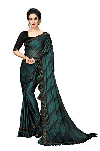 Fab Dadu Women's Silk Saree With Blouse Piece