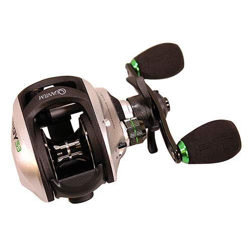 Zebco/Quantum, Energy Baitcast Reel, 100 Reel Size, 7.0:1 Gear Ratio, 11 Bearings, Right Hand