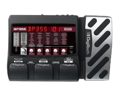 DigiTech BP355 Bass Guitar Multi-Effects Processor, Stomp Mode