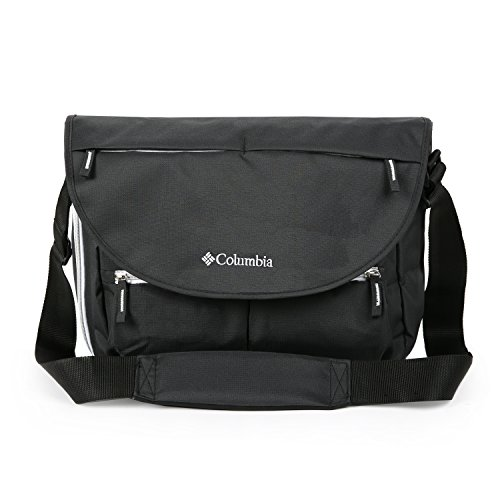 Columbia Outfitter Messenger Diaper Bag, Black