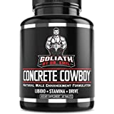 Goliath by Dr. Emil Concrete Cowboy - Male Enhancement Supplement - Libido & Testosterone Booster, Muscle Growth & Endurance (60 Veggie Capsules)